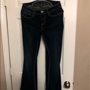 Seven Women's dark wash boot cut jeans